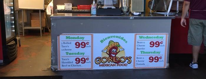 Gordo's Mexican Food is one of Lugares guardados de Cindy Jo.
