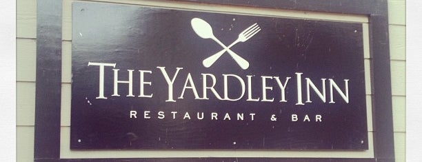 The Yardley Inn Restaurant & Bar is one of Orte, die Tracy gefallen.