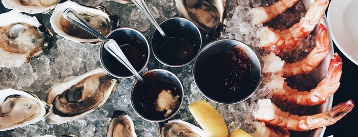 Row 34 is one of 25 Top Spots for Oysters in the U.S..