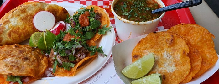 Teddy's Red Tacos is one of LA.