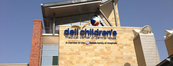 Dell Children's Medical Center of Central Texas is one of Dianeyさんのお気に入りスポット.