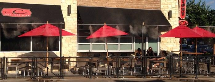 Tony C's Coal Fire Pizza is one of Tempat yang Disukai Megan.