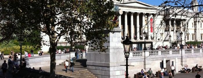 Trafalgar Square is one of My London, UK.