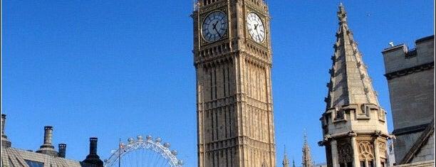 Elizabeth Tower (Big Ben) is one of My London, UK.
