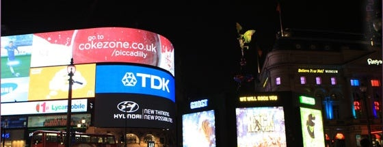 Piccadilly Circus is one of My London, UK.