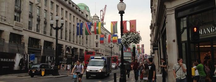 Regent Street is one of My London, UK.