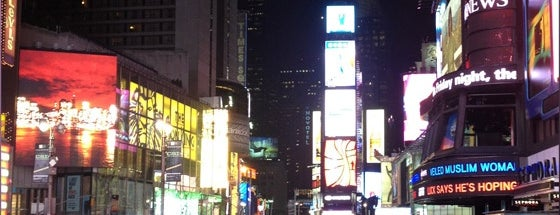 Times Square is one of My New York City/NYC, USA.