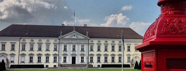 Schloss Bellevue is one of Berlin Best: Sights.