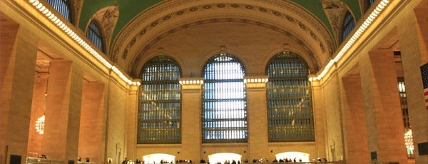 Grand Central Terminal is one of My New York City/NYC, USA.