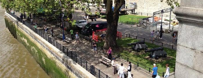 Tower of London Riverside Walk is one of My London, UK.