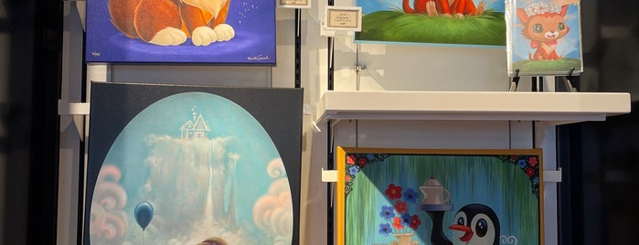 WonderGround Gallery is one of Disney Springs.