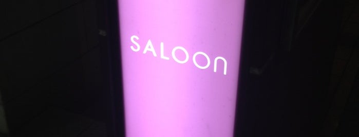 SALOON is one of Tokyo as a local.