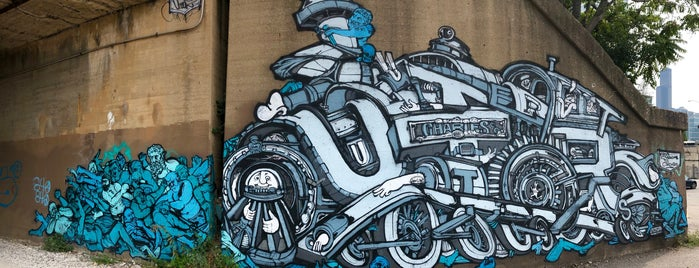 Hubbard Street Mural Project is one of Chicago_to do.