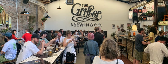 Grifter Brewing Company is one of Sydney eats 'n' treats.