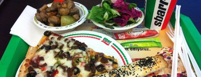 Sbarro is one of Hülya&Engin 님이 좋아한 장소.
