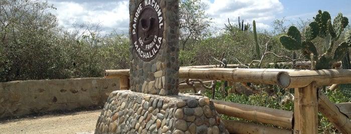 Parque Nacional Machalilla is one of Ecuador.