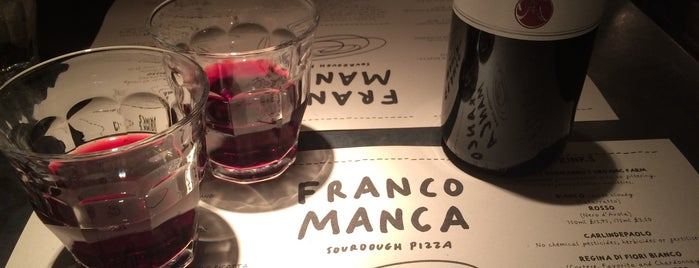 Franco Manca is one of LDN.
