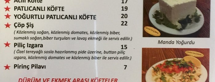 Köfteçine is one of Ist.