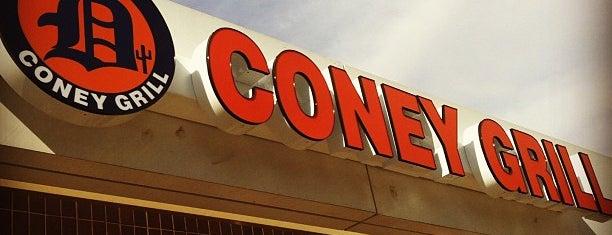 Detroit Coney Grill is one of Locais salvos de Ulises.