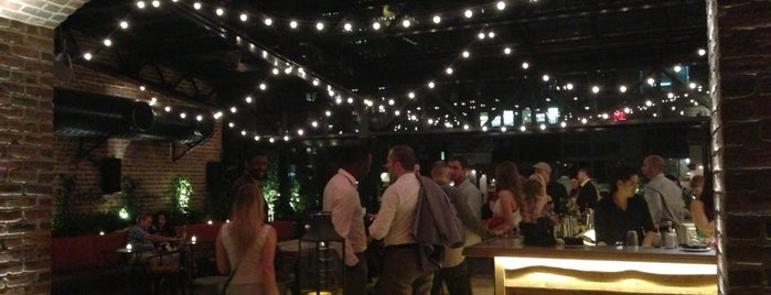 Refinery Rooftop is one of nyc - outdoor wine/dine.