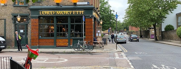 Lord Morpeth is one of London Pizza Places.