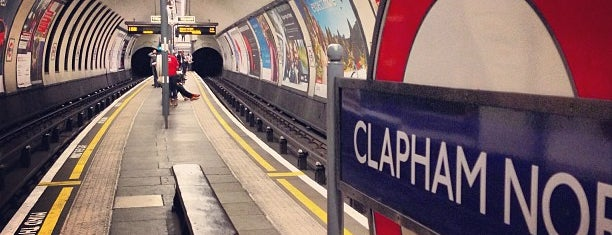 Clapham North London Underground Station is one of Lieux qui ont plu à Kevin.