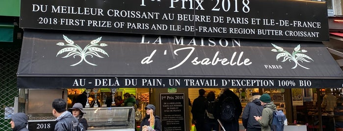 La Maison d'Isabelle is one of Paris Croissant , Macaron  & Dessert.
