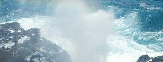 Hālona Blowhole Lookout is one of Hawaii.