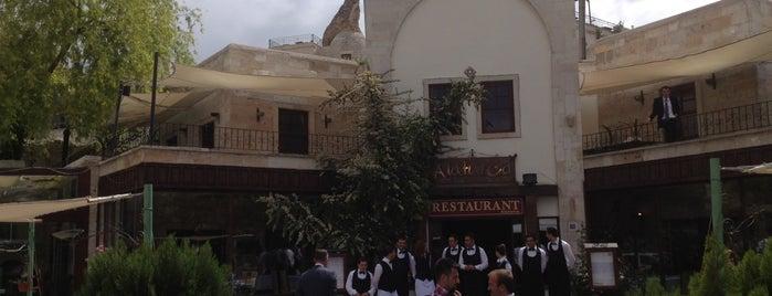 A La Turca Home of Anatolian Cuisine is one of Cappadocia.