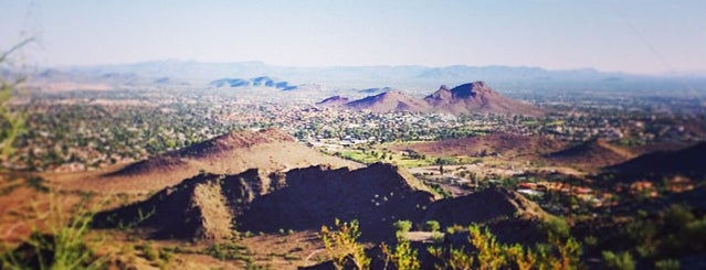 Top of North Mountain is one of Phoenix.