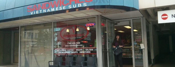 V Sandwiches is one of Tempat yang Disukai Lesley.