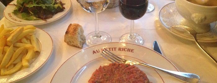 Au Petit Riche is one of Paris 9ème.