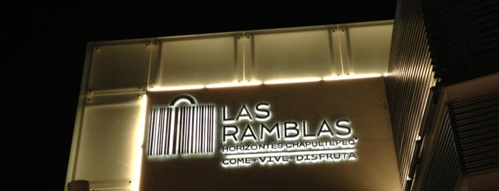 Plaza Las Ramblas is one of compras.
