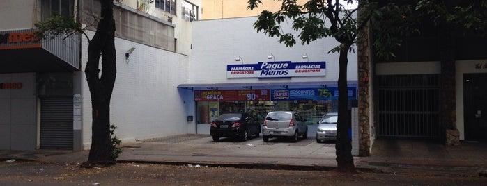 Farmácia Pague Menos is one of Tempat yang Disukai Bruno.