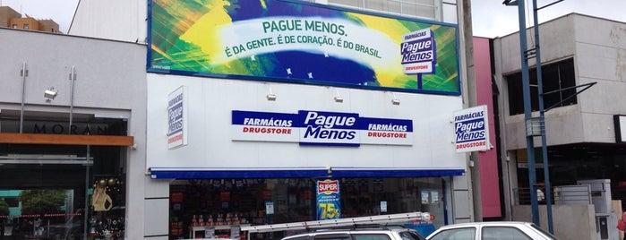 Farmácias Pague Menos: Tele Entrega Centro Poços de Caldas - MG is one of Bruno'nun Beğendiği Mekanlar.