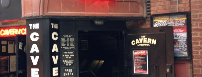 The Cavern Club is one of Liverpool - live music.