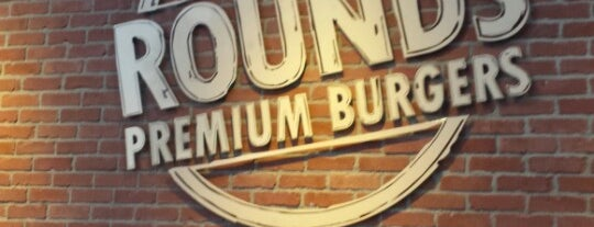 Rounds Premium Burgers is one of Southern California Foodie Adventure.