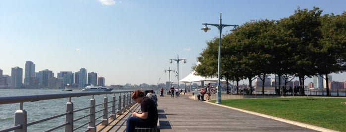 Hudson River Greenway is one of #myhints4NewYorkCity.