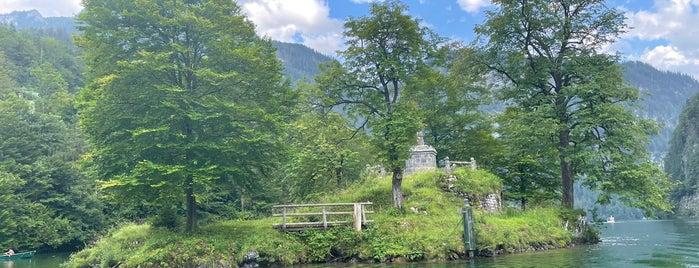 Königssee is one of Bayerische Alpen.