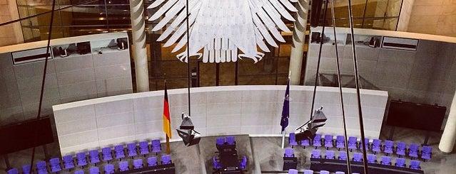 Deutscher Bundestag is one of Tempat yang Disukai Torsten.