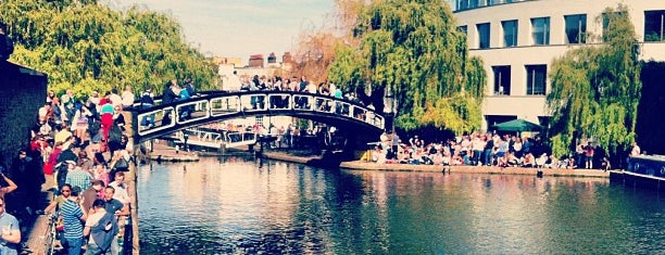 Camden Lock Market is one of London.