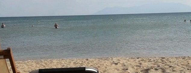 Achinos Beach Bar is one of Lugares favoritos de Lina.