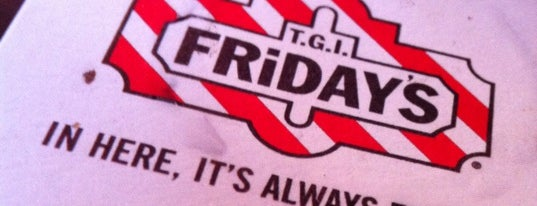 TGI Fridays is one of Krista : понравившиеся места.
