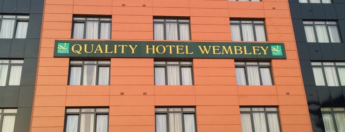 Wembley International Hotel is one of Gespeicherte Orte von Hamed.