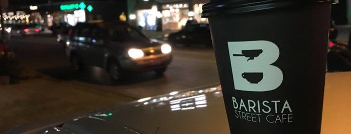 Barista street cafe is one of GoCorfu.