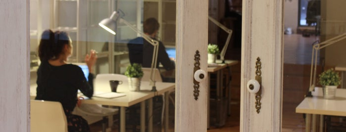 Coworking RavalCo is one of Barcelona.