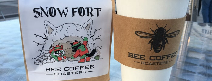 Bee Coffee Roasters is one of Lugares favoritos de Rachel.