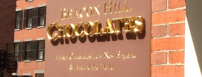 Beacon Hill Chocolates is one of Boston.