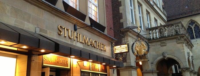 Stuhlmacher is one of Münster - must visit.