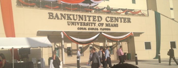 BankUnited Center is one of Posti che sono piaciuti a Fernando.